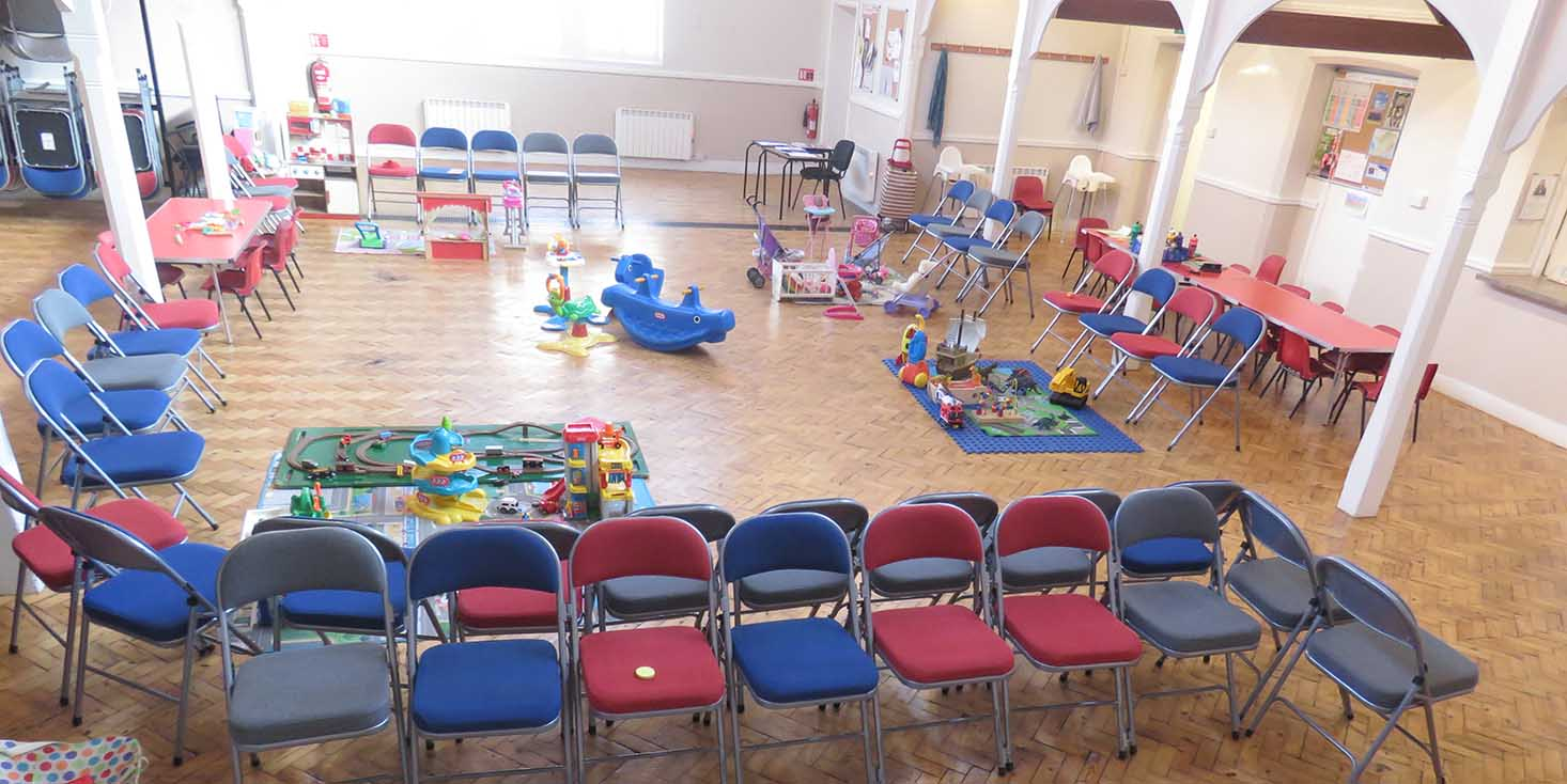 Wigglers Church Toddler Group Hall Layout