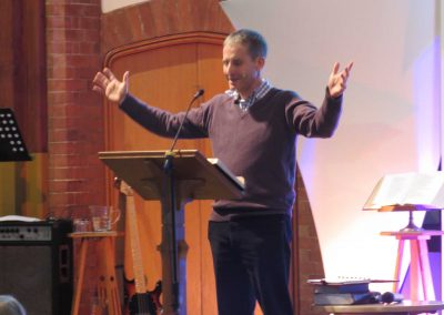 John Risbridger - Minister and Team Leader, Above Bar Church - gave a talk on What is the WHY of Church and of Ministry