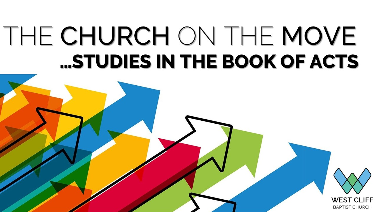 Acts - sermon series at WCBC